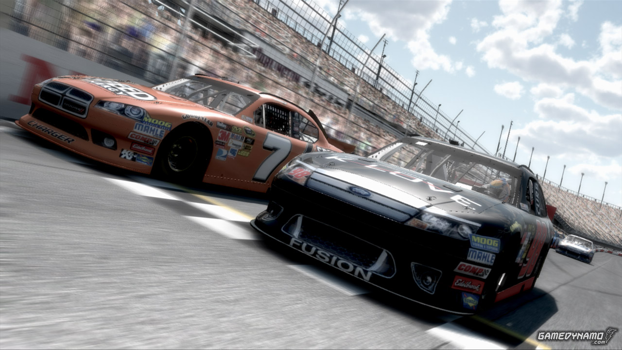 NASCAR The Game Inside Line (xbox 360, PS3, Wii) screenshots