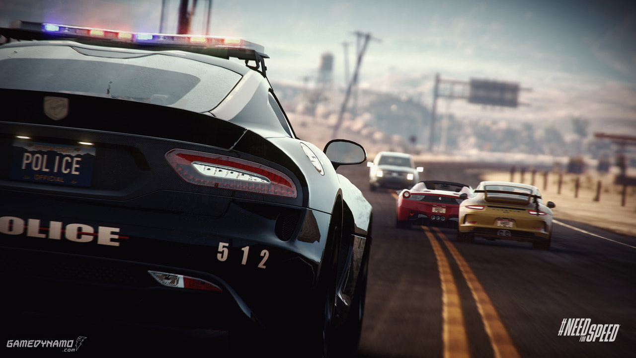 need for speed rivals playstation 4 review gamedynamo. Black Bedroom Furniture Sets. Home Design Ideas