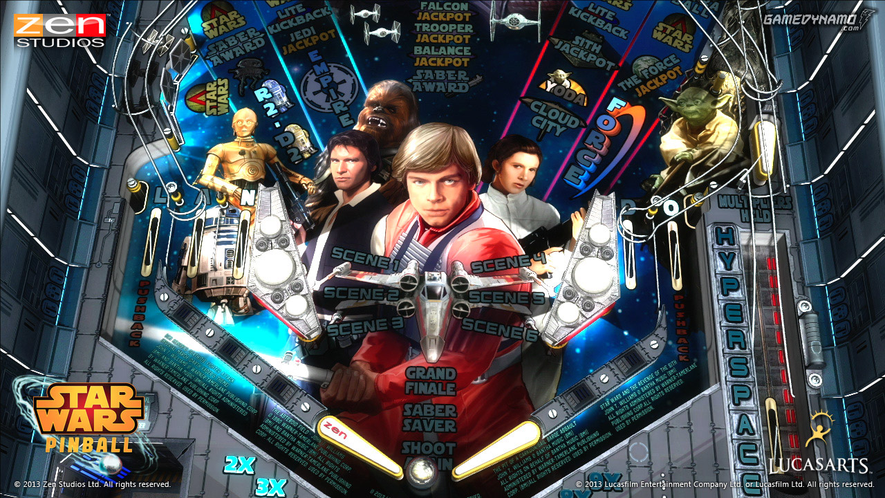 Star Wars Pinball (xbox 360, ps3) Review Screenshots
