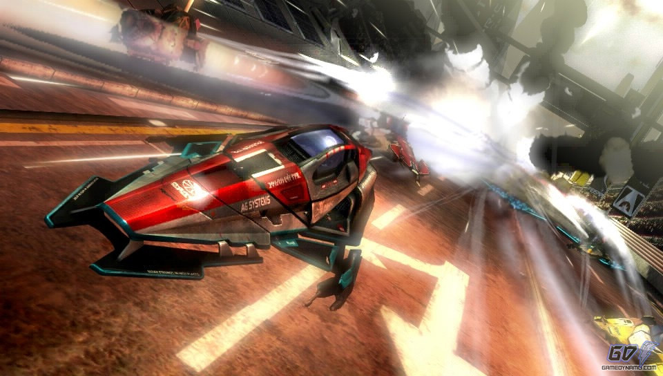 WipEout 2048 (PS Vita) Review Screenshots