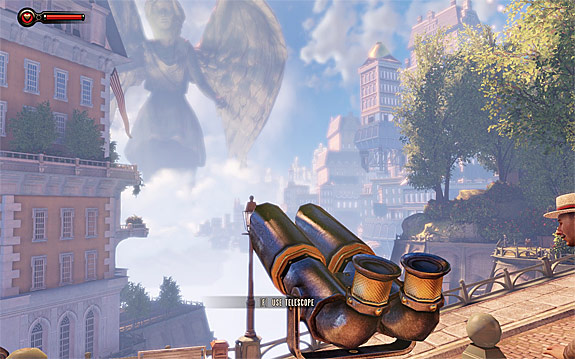 BioShock Infinite Sightseeing Achievement Guide - Telescope & Kinetoscope Locations