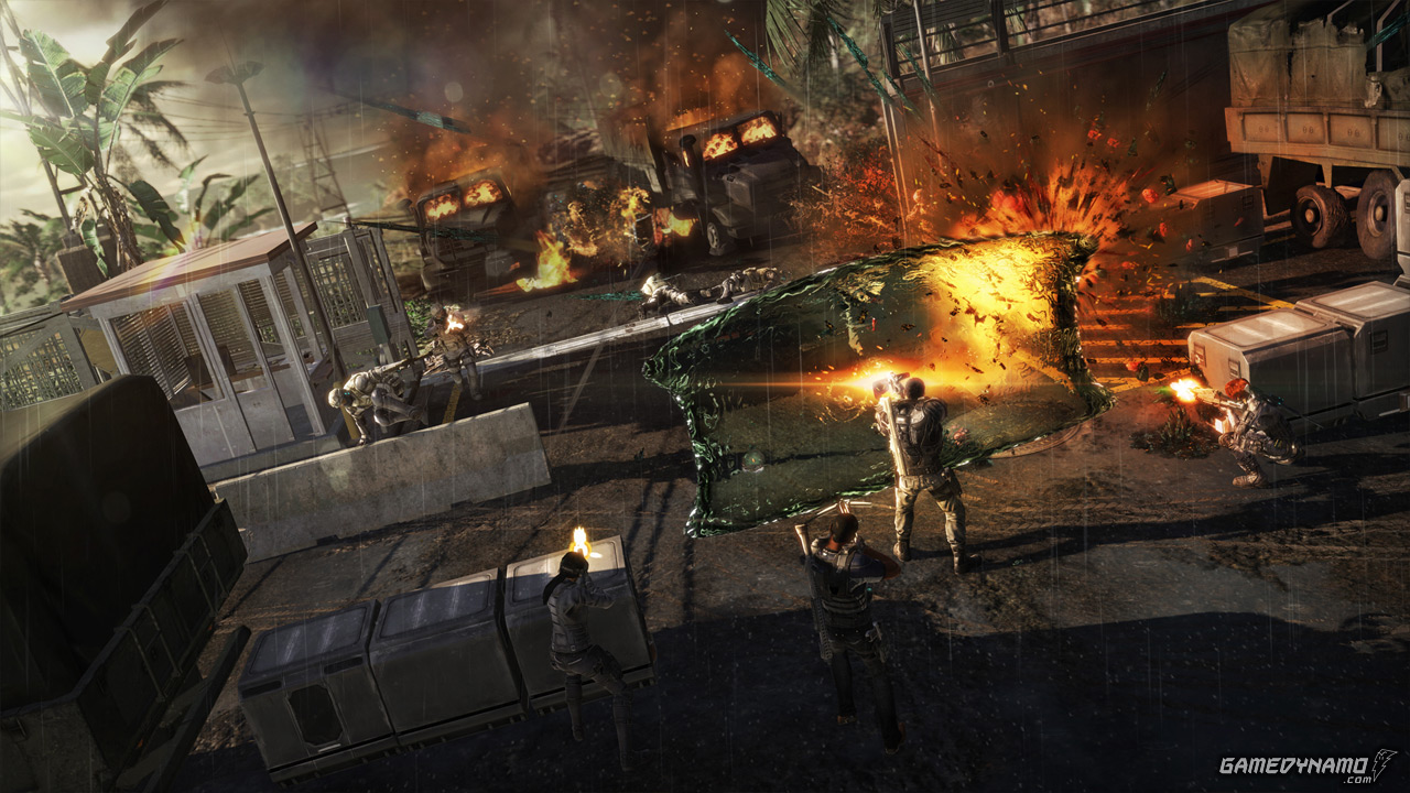 Fuse Xbox 360 Game Review : Game news insomniac s overstrike is now fuse will be