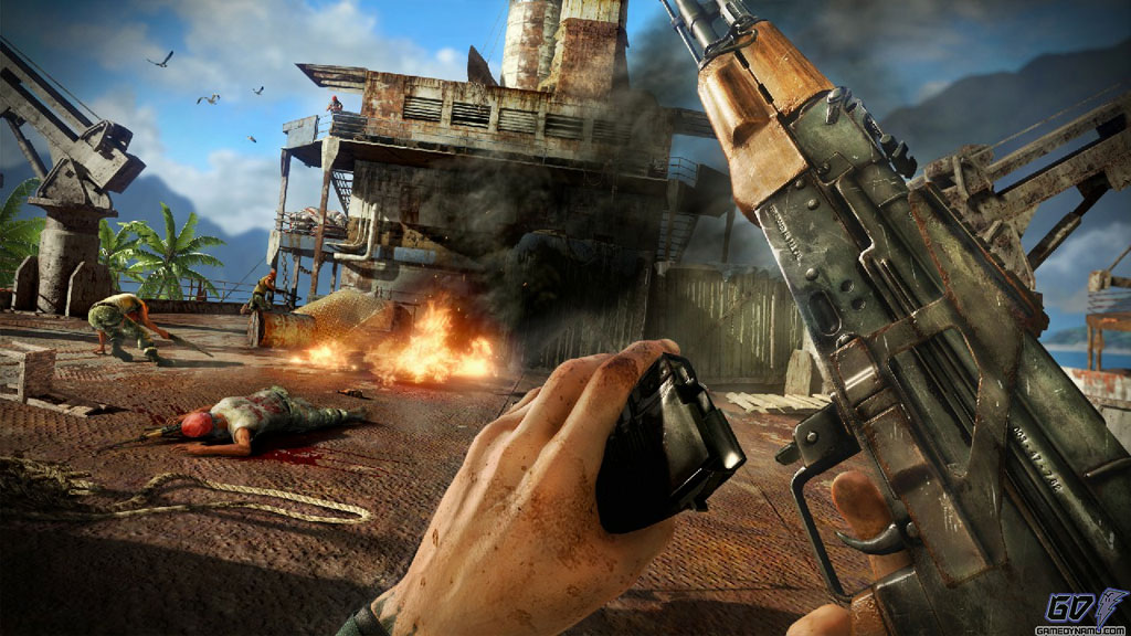 Far Cry 3 (Xbox 360) E3 Hands-On Preview Screenshots