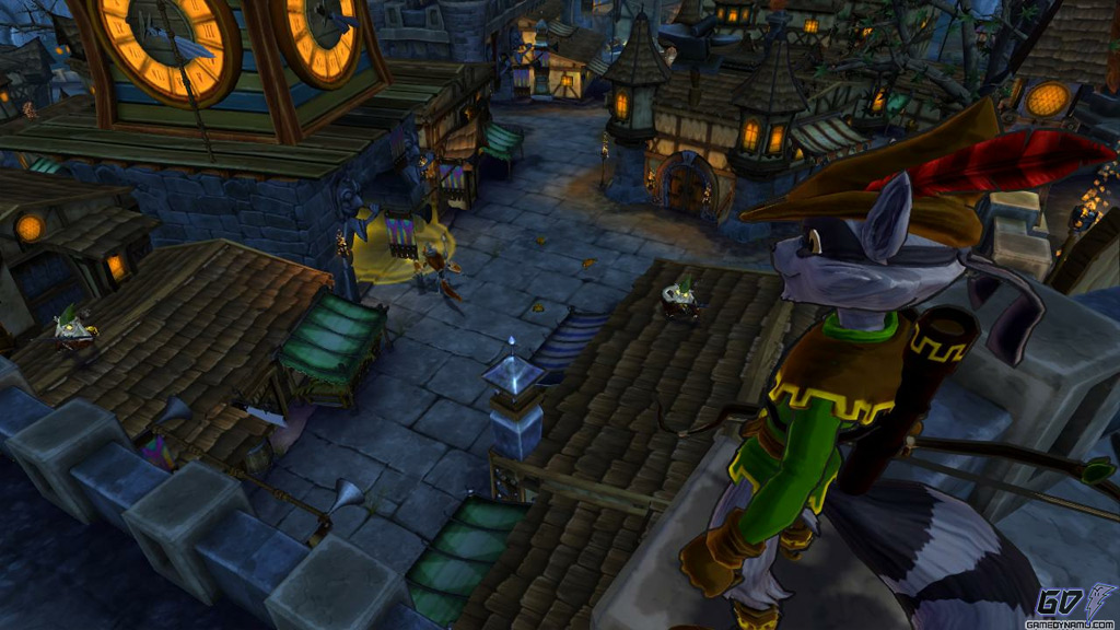 Sly Cooper: Thieves in Time (PS Vita, PS3) Preview Screenshots