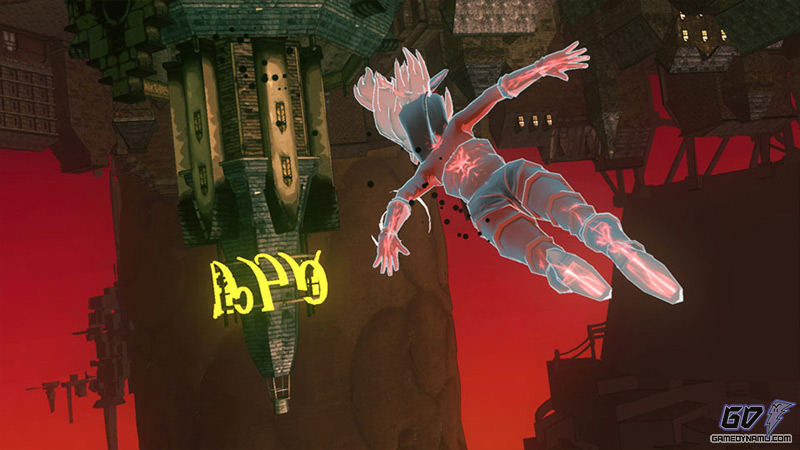 Gravity Rush (PS Vita) Preview Screenshots