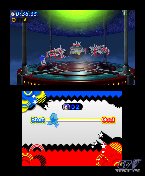 Sonic Generations (Nintendo 3DS) Review Screenshots