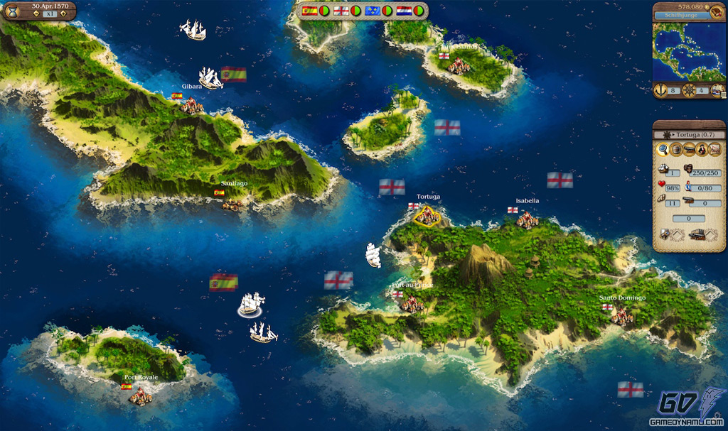 Port Royale 2 Mapa.Port Royale 3 Pirates Merchants Xbox 360 Hands On