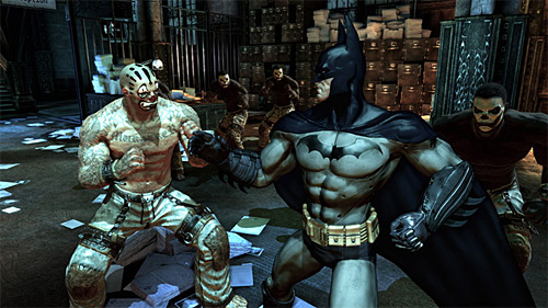 It's a Fight: Captain America vs. Batman: Arkham Asylum