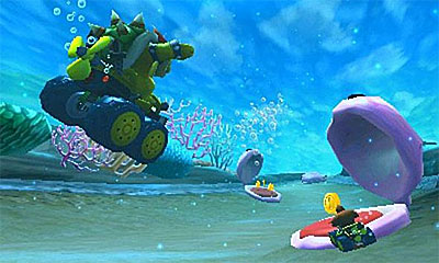 Mario Kart 7 (3DS) Guide: Jump off ramps, drift around corners for speed boosts