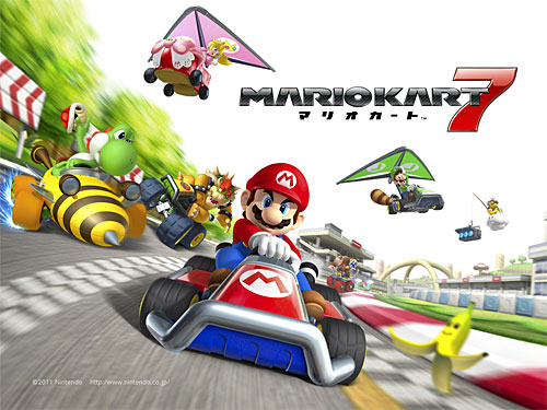 feature mario kart 7 3ds guide cheats tricks easter eggs and unlockables gamedynamo. Black Bedroom Furniture Sets. Home Design Ideas