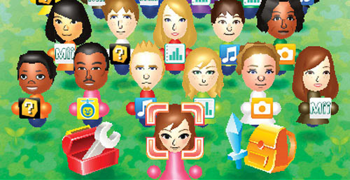Find Mii will find a host of new challenges in the Mii Plaza