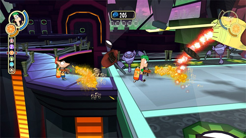 Phineas and Ferb: Across the 2nd Dimension (PS3, Wii) Review Screenshots