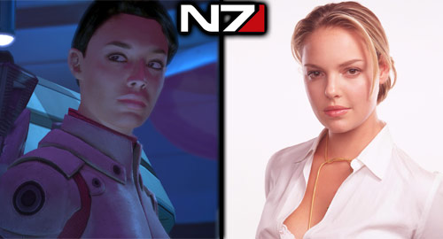 The Casting Call: Mass Effect - Ashley: Katherine Heigl
