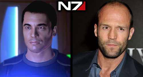 The Casting Call: Mass Effect - Kaiden: Jason Stratham