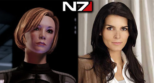 The Casting Call: Mass Effect - Shepard (Female): Angie Harmon