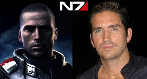 The Casting Call: Mass Effect - Shepard (Male): Jim Caviezel
