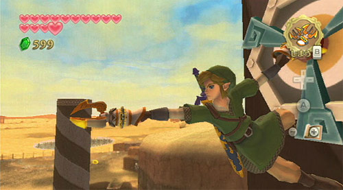 The Legend of Zelda: Skyward Sword (Wii) will boast 50-100 hours of gameplay