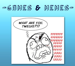 Games & Memes Video Game Comics