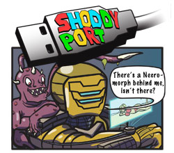 Shoddy Port Video Game Comics