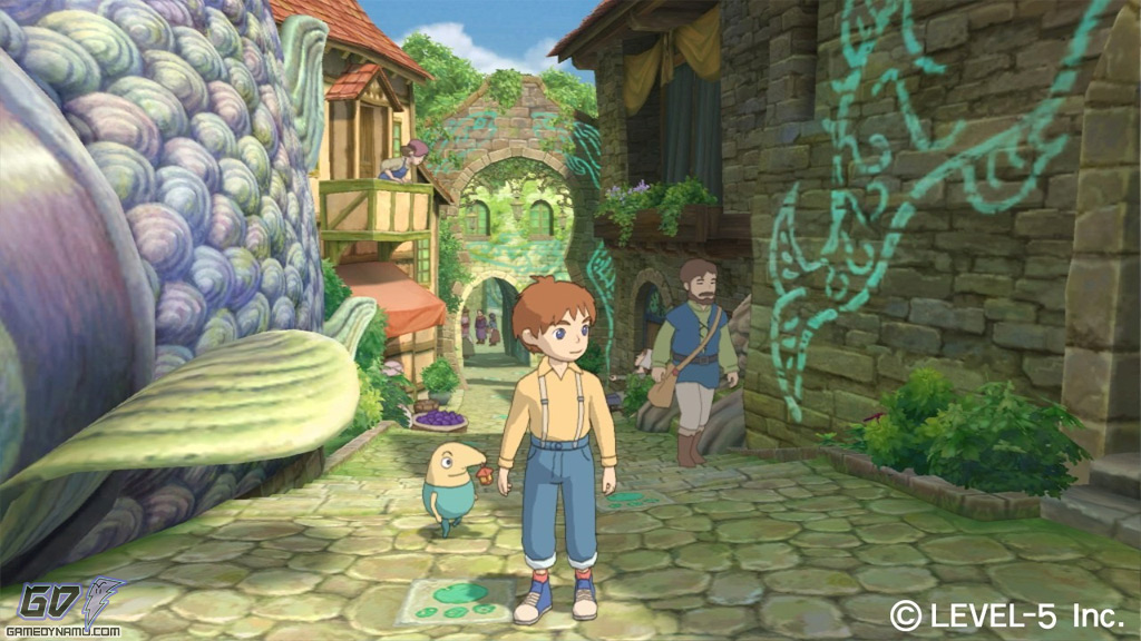 Ninokuni: Shiroki Seihai no Joou North American release date, screenshots, video (PS3)