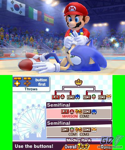 Mario & Sonic at the London 2012 Olympic Games (Nintendo 3DS) Review Screenshots
