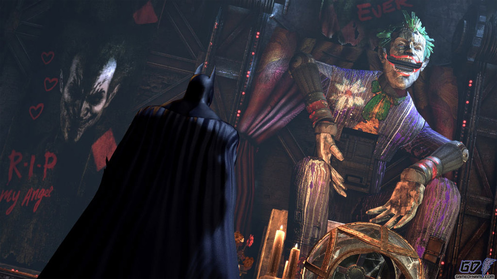 Batman: Arkham City - Harley Quinn's Revenge DLC screenshots and teaser trailer (Rocksteady, Warner Bros.)