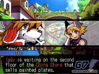 Solatorobo: Red the Hunter (Nintendo DS / DSi) Review Screenshots
