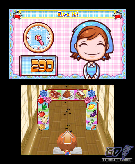 Cooking Mama 4: Kitchen Magic (Nintendo 3DS) Review Screenshots