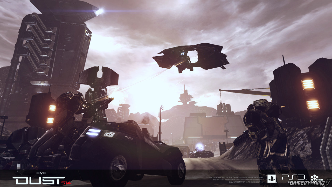 DUST 514 Mercenary Pack screenshots and details (CCP Games, PS3, free-to-play, MMO, FPS)