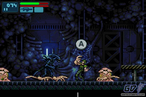 Aliens Infestation (Nintendo DS) Review Screenshots