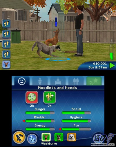 The Sims 3 Pets (3DS) Gamescom Trailer - YouTube