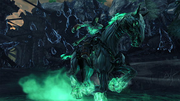 Darksiders II release date and pre-order incentives (THQ, Vigil Games)