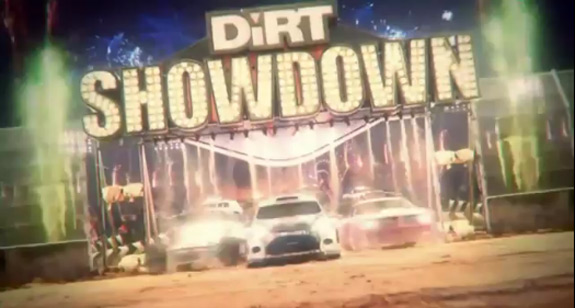 DiRT Showdown announced by Codemasters for Xbox 360 and PS3