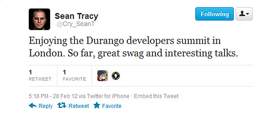 Next Microsoft Xbox Durango developers summit in London