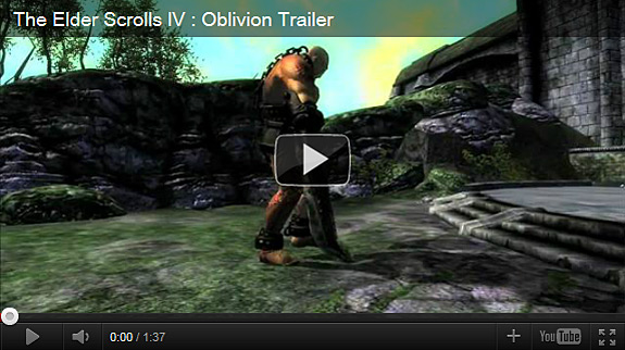 The Elder Scrolls IV: Oblivion official trailer