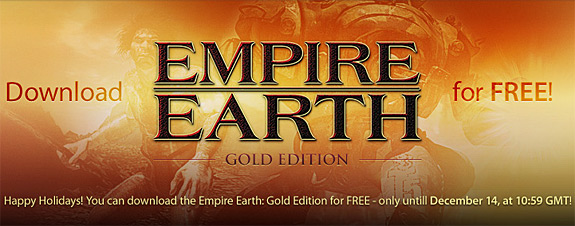 empire earth 1 free game