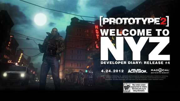 Prototype 2 Welcome to NYZ trailer video (PC, PS3, Xbox 360)