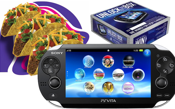 Taco Bell Unlock the Box Sony PlayStation Vita promotion problems