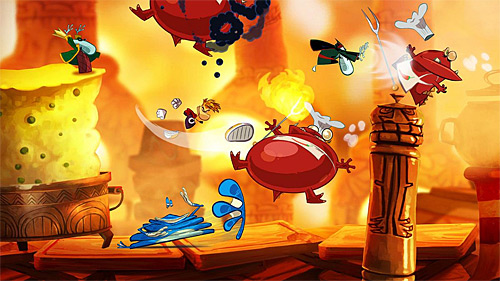 Rayman Origins review (PS3, Xbox 360, Wii, 3DS)