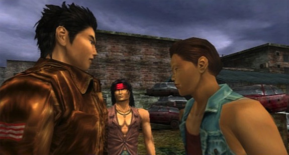 Shenmue HD and Shenmue II HD coming to PSN and XBLA (PS3, Xbox, 360, SEGA)