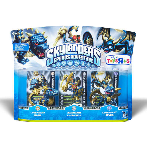 Tags: Skylanders, Spyro's, Adventure, Legendary, Triple Pack, Toys R