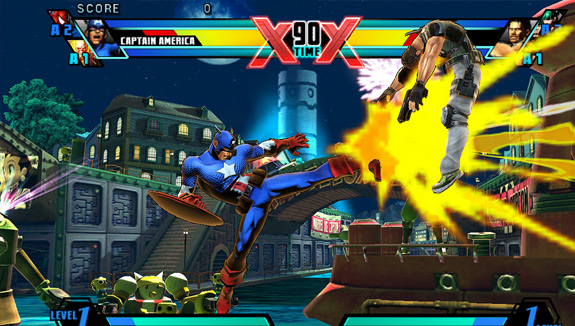 UMVC3 PlayStation Vita and PS3 Cross-Play (Sony)