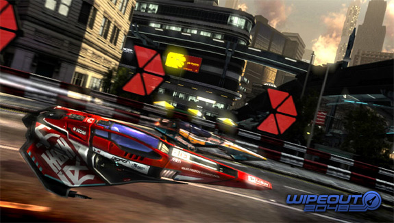 Wipeout 2048 PlayStation Vita and PS3 Cross-Play (Sony)