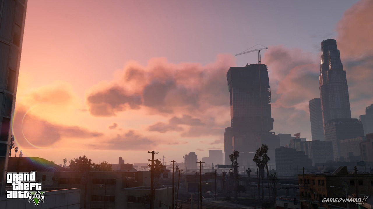 Ten more GTA V screenshots: 'Sunset, Seas, Skies and So On...'
