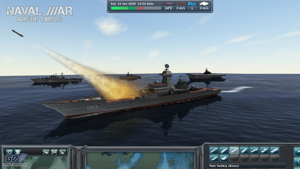 Naval War Arctic Circle (PC) 2012