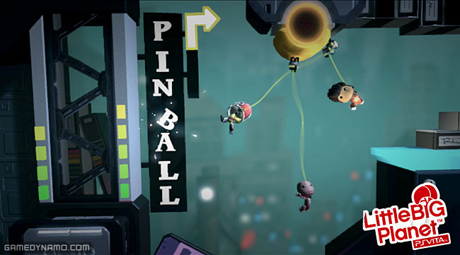 LittleBigPlanet PS Vita (PS, PlayStation, Vita, PSV) Hands-On Preview Screenshots