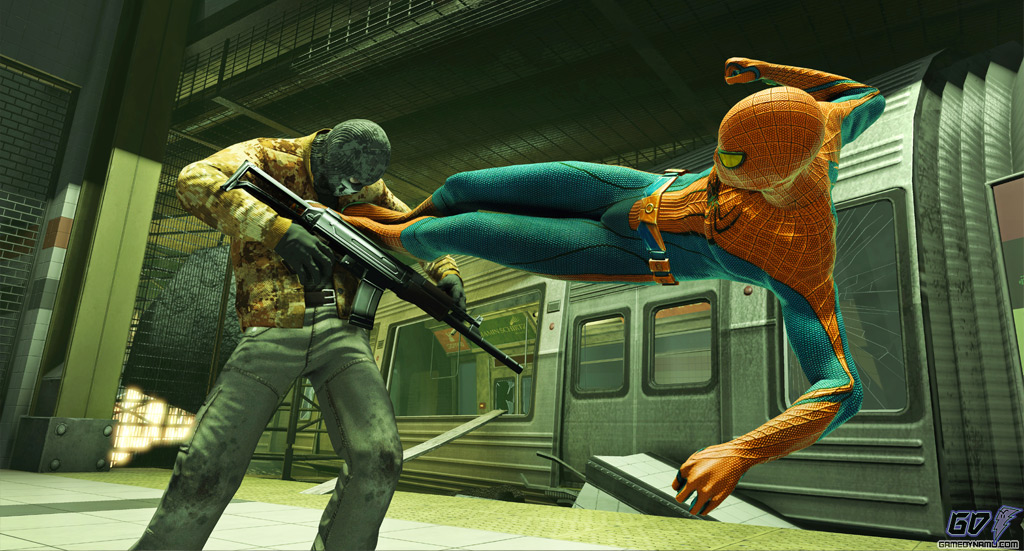 The Amazing Spider-Man (PS3, Xbox 360) Preview Screenshots