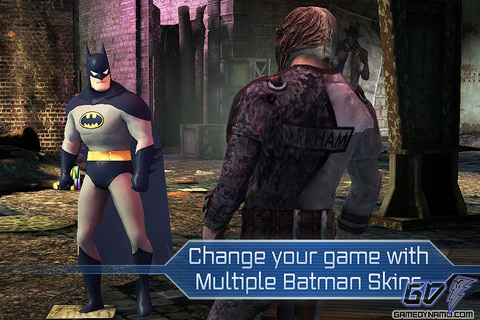 Batman: Arkham City Lockdown (iPhone, iPod, iPad, iTunes, iOS, Mobile) Review Screenshots