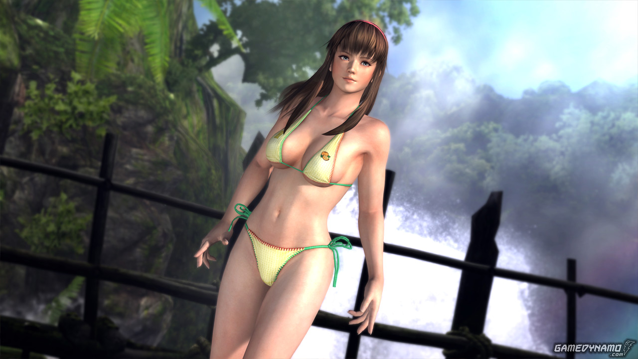 Dead or Alive 5 Collector's Edition swimsuit screenshots - Hitomi (Tecmo, Koei, Team Ninja, DOA 5)