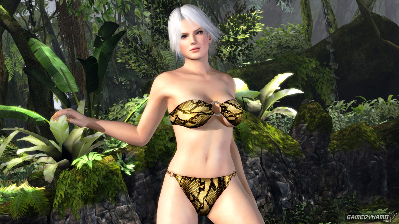 Dead or Alive 5 Collector's Edition swimsuit screenshots - Christie (Tecmo, Koei, Team Ninja, DOA 5)
